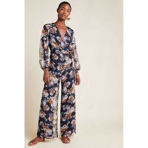 New Anthropologie Jacquard Jumpsuit by Ali & Jay